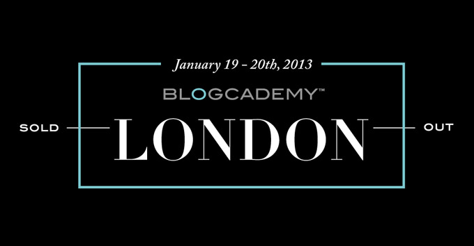 Blogcademy London header