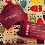 Ten Penny Dreams business cards