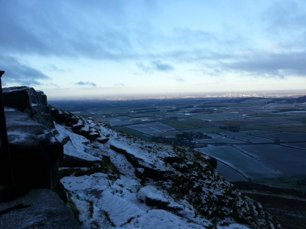 View of Middlesbrough from Roseberry Topping