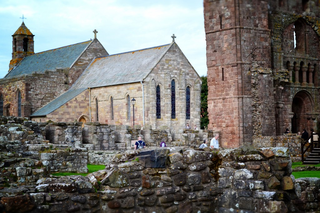 Lindisfarne Priory and St. Mary's Church