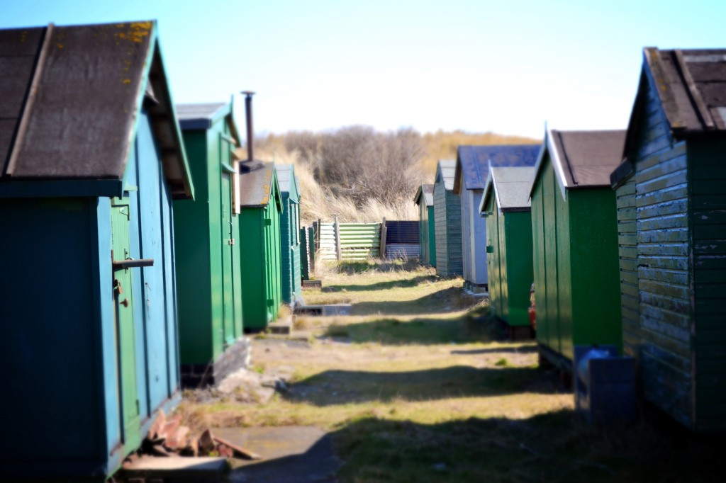 Fisherman's huts South Gare
