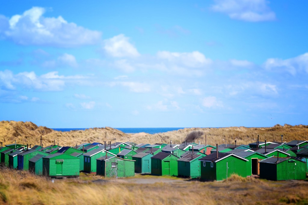South Gare fisherman's huts