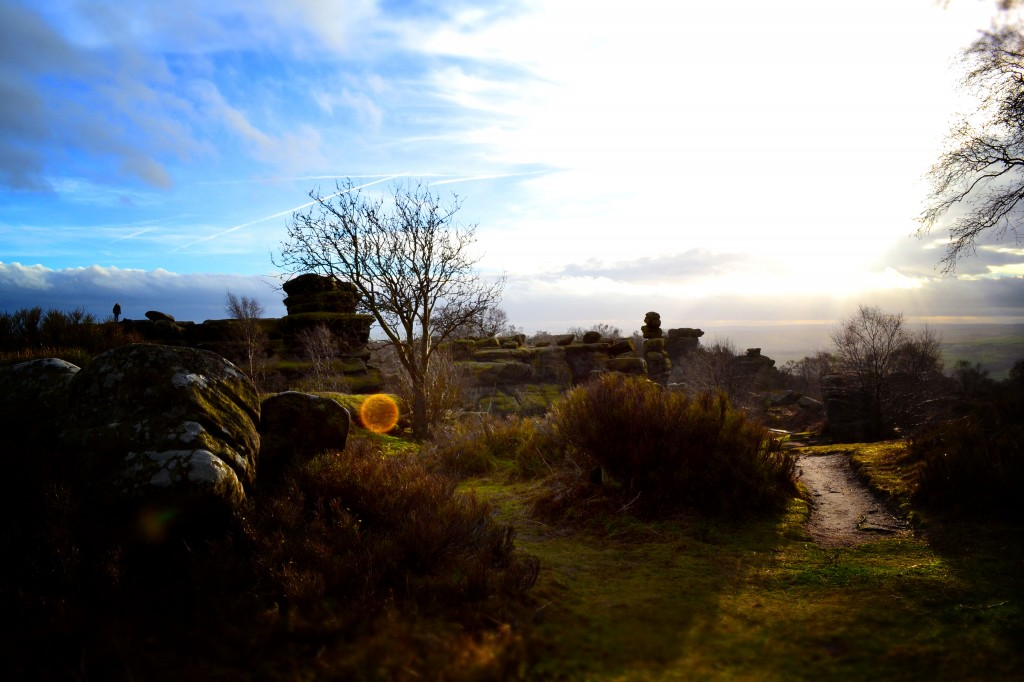 Brimham Rocks sunshine