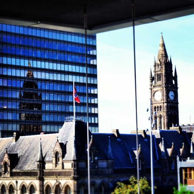 Middlesbrough Town Hall Reflected