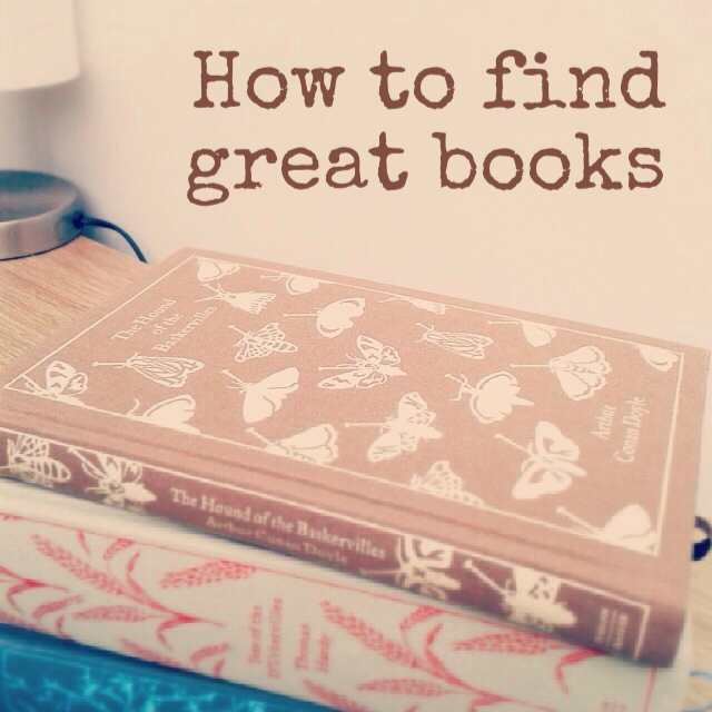 How to find great books