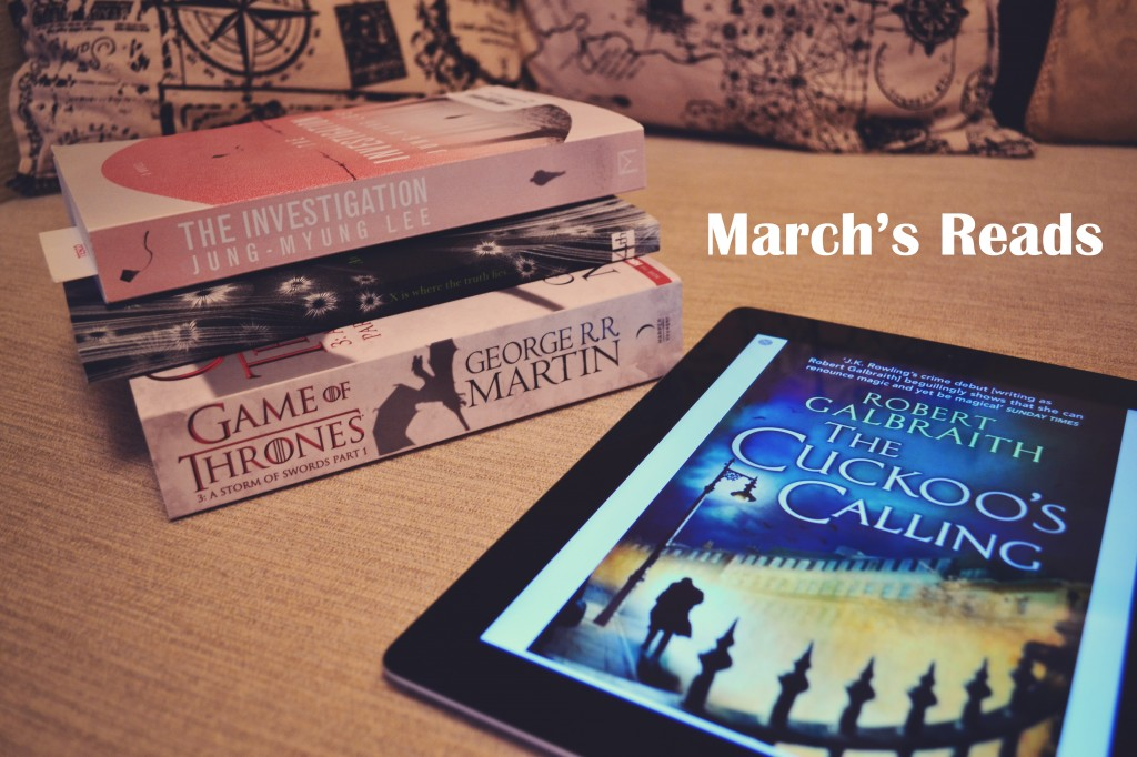 March's reads