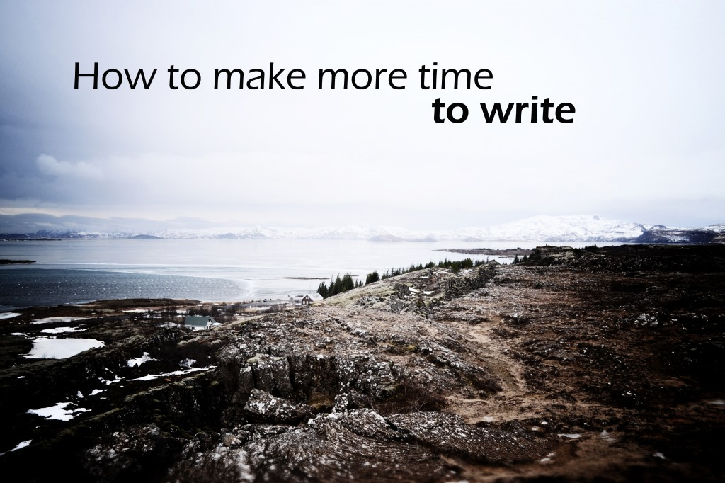 How to make more time to write