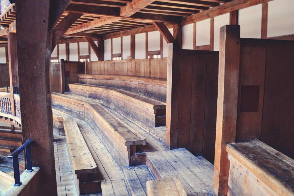 Globe Theatre seating