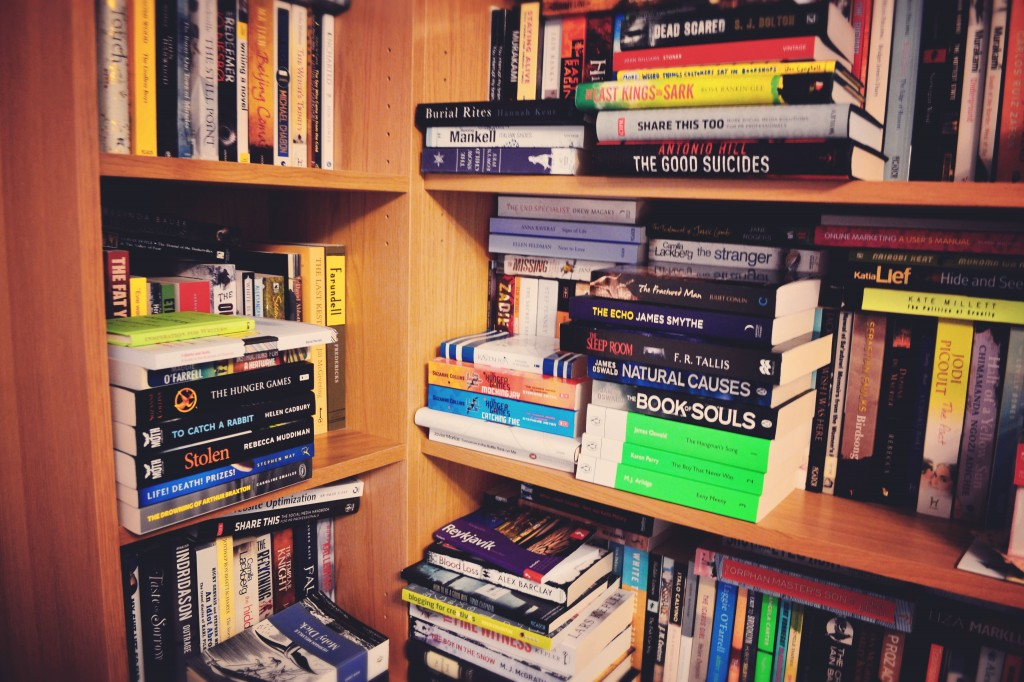 Books and moving