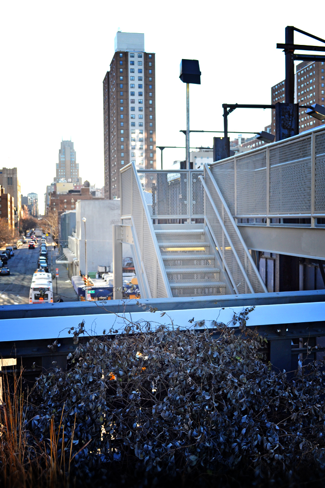 High Line stairs