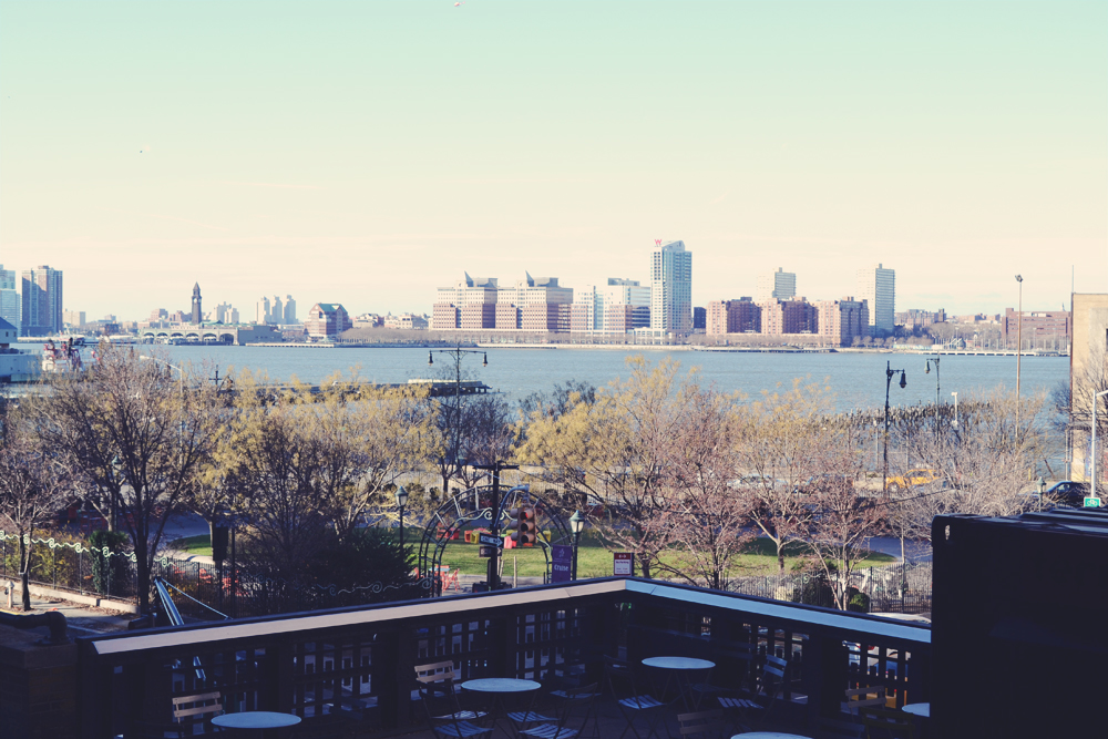 View over the Hudson River
