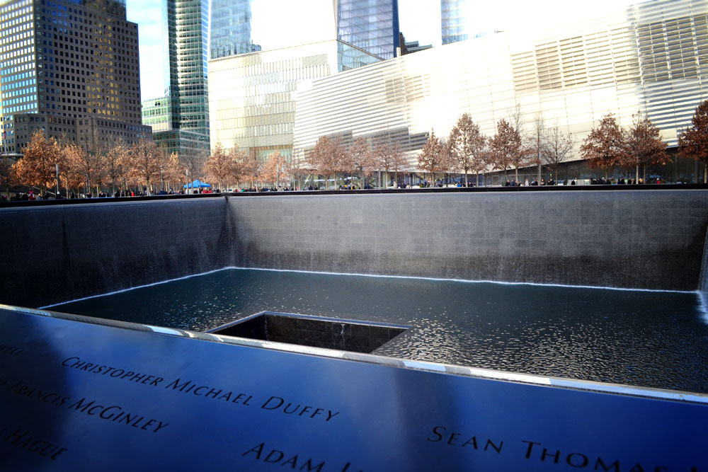 Ground Zero reflecting pool