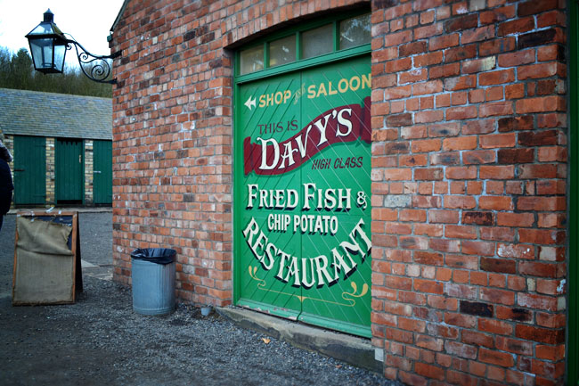 Beamish Davy's fish and chips