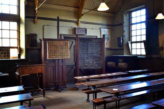 Beamish Schoolroom