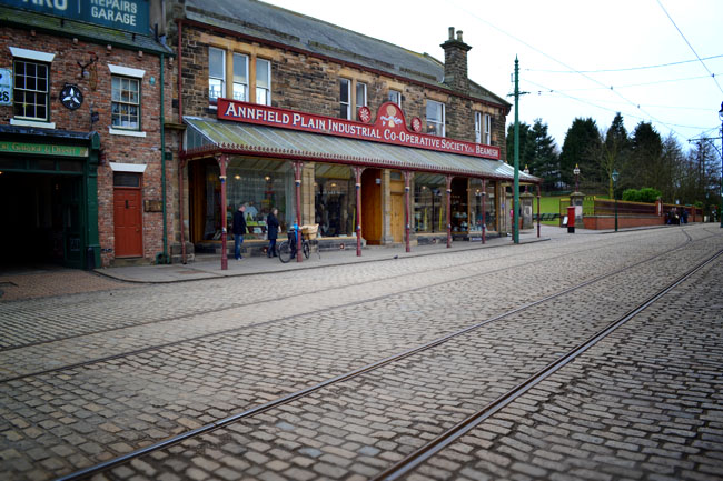 Beamish 1900s town street