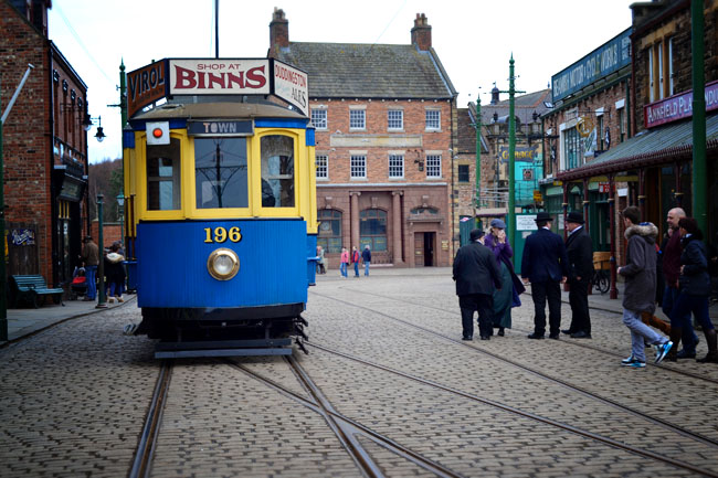Tram at Beamish Museum