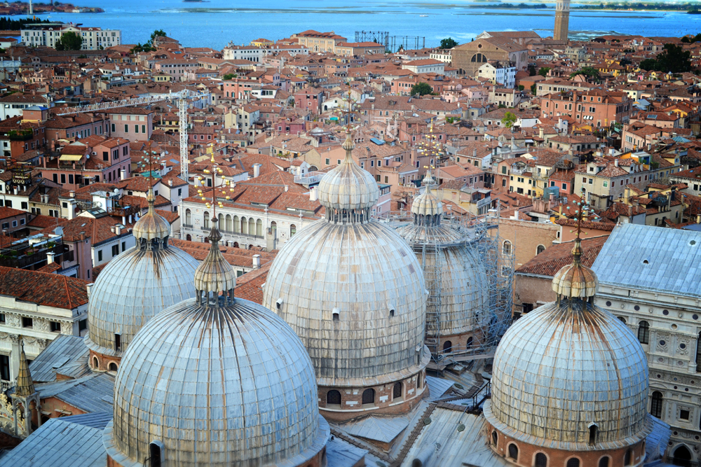 Basilica di San Marco from above