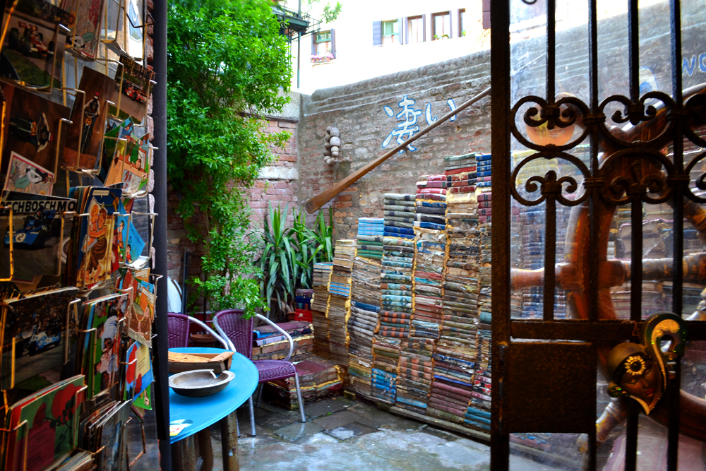 Book shop courtyard