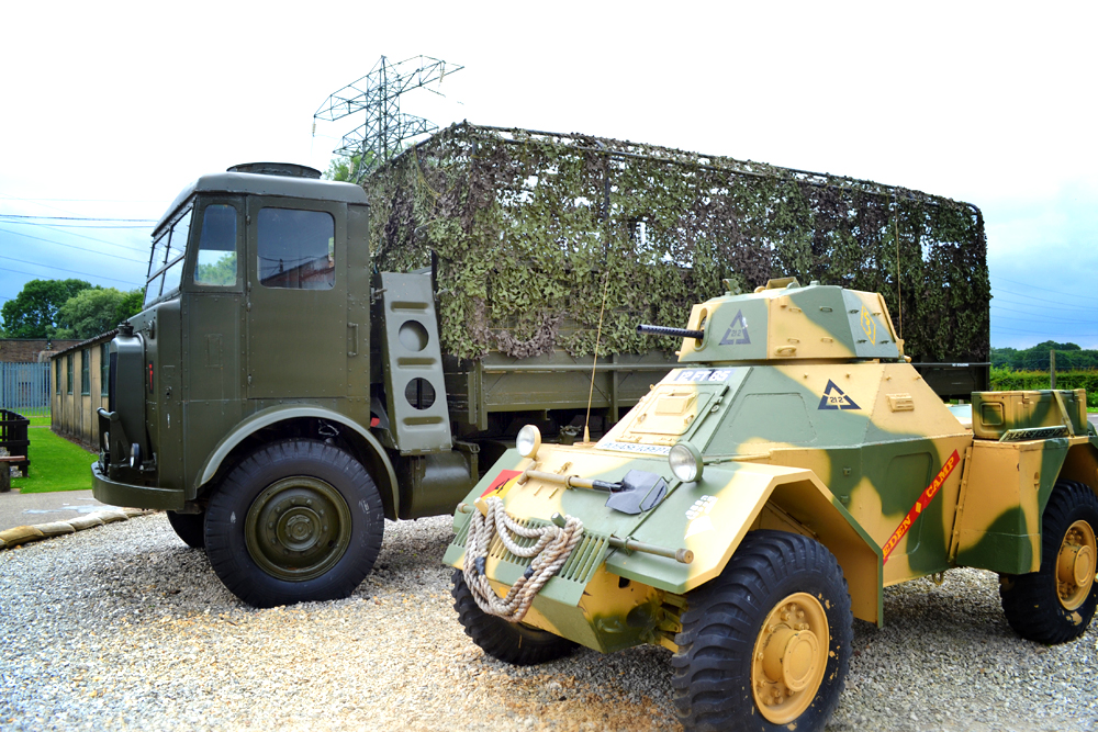 Eden Camp vehicles