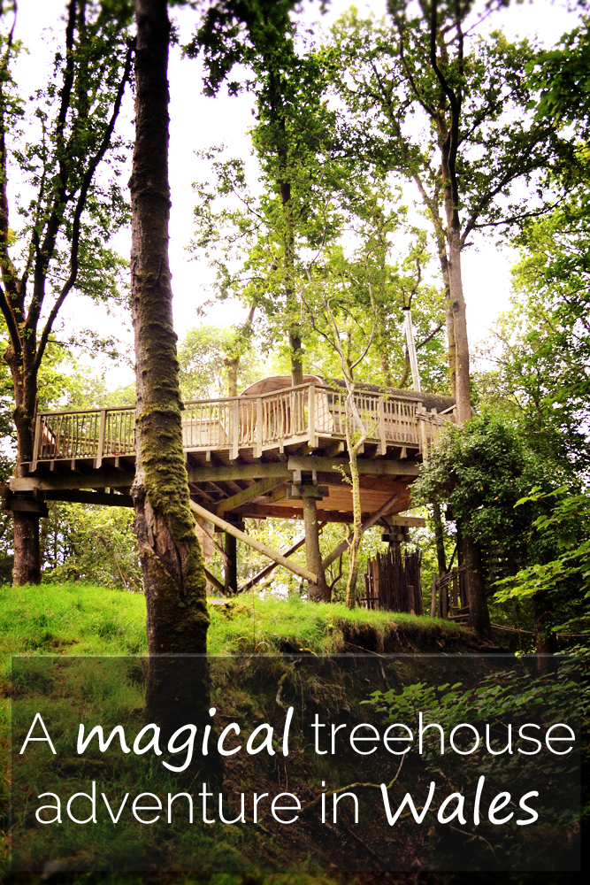 A magical treehouse adventure in Wales