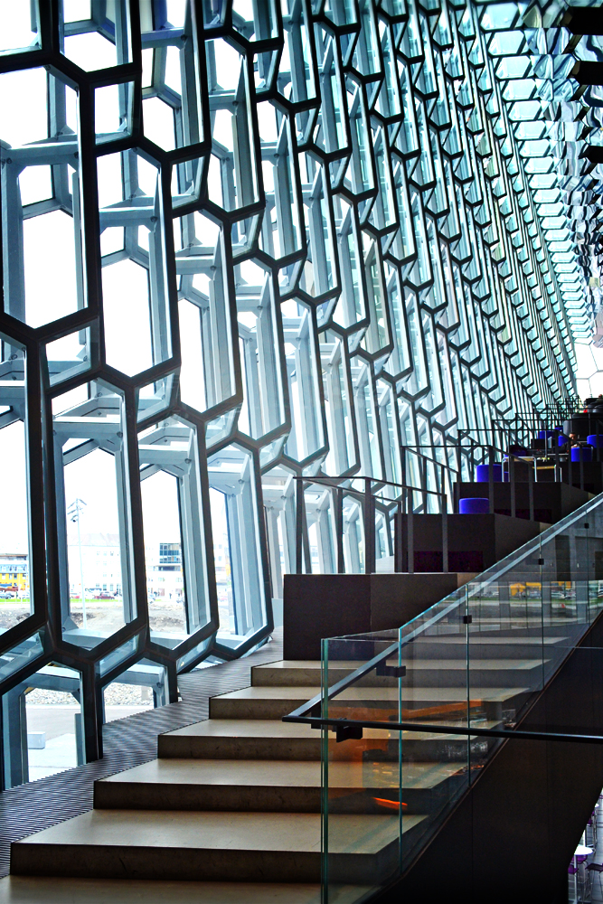 Harpa stairs