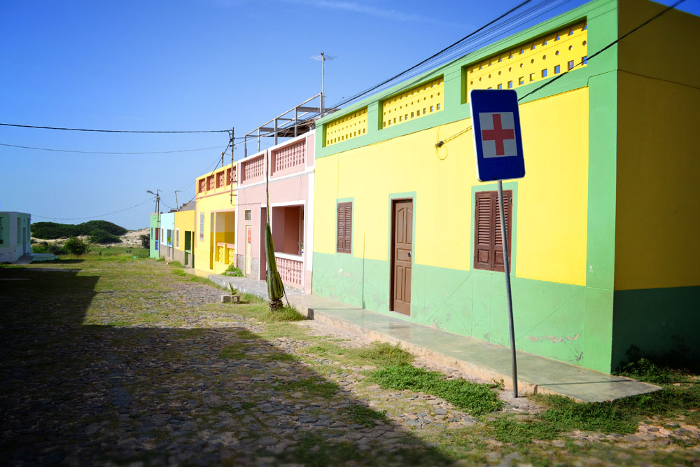 Bofareira colourful houses