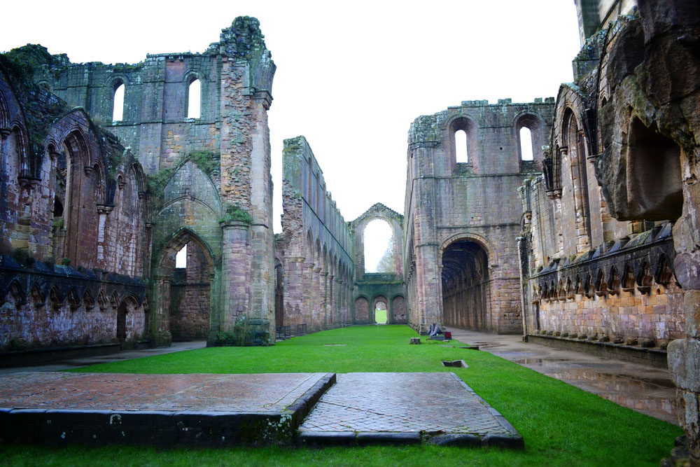 Cloisters at Fountains Abbey