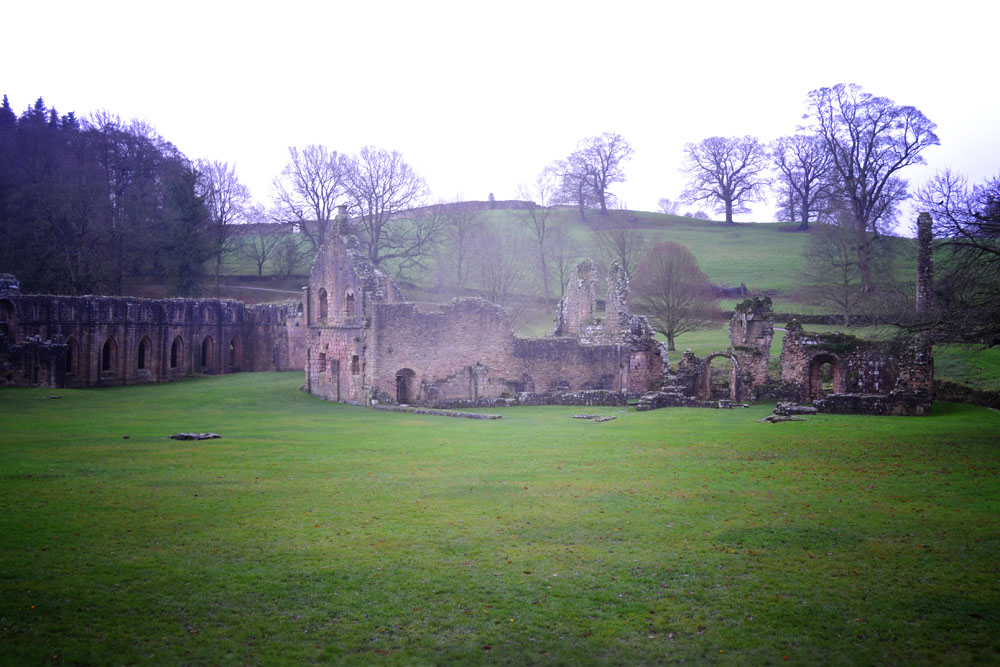 Fountains Abbey ruins