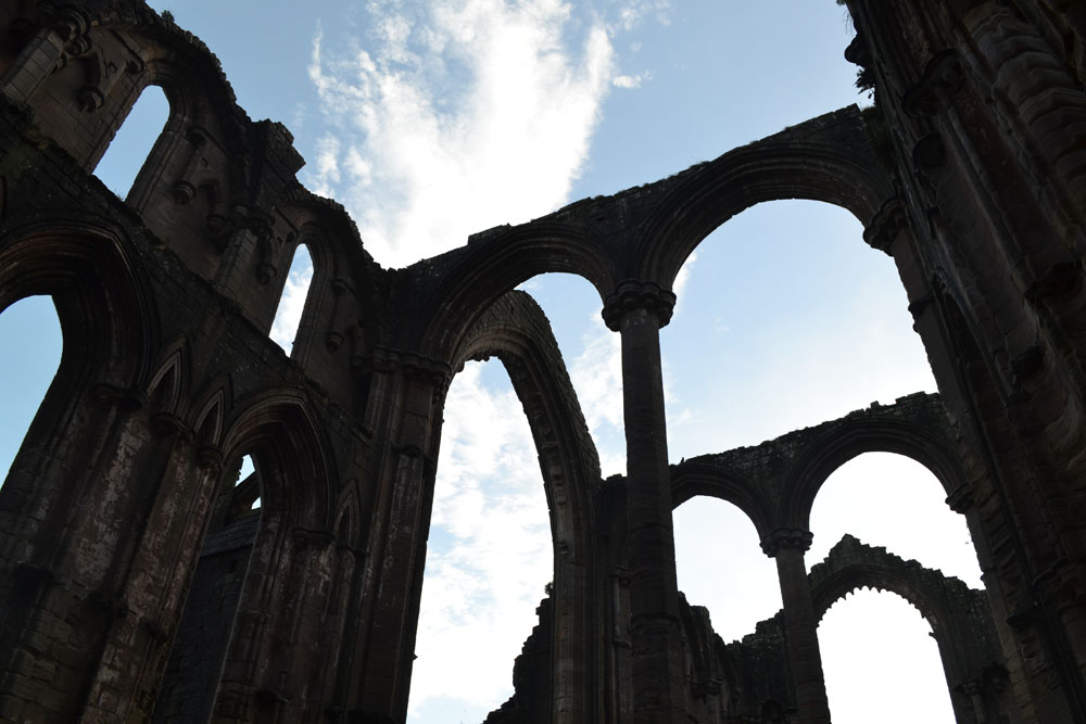 Ruins Fountains Abbey