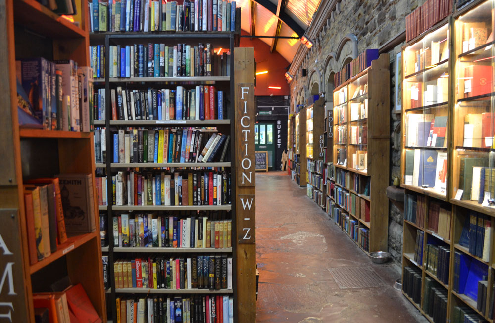 Barter Books fiction A-Z
