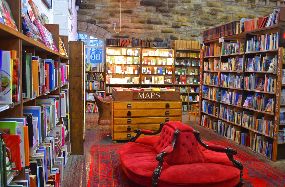 Maps at Barter Books