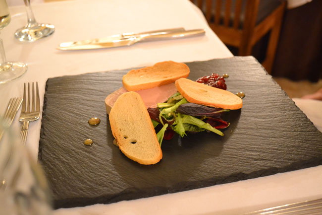Pate at Courtyard Restaurant