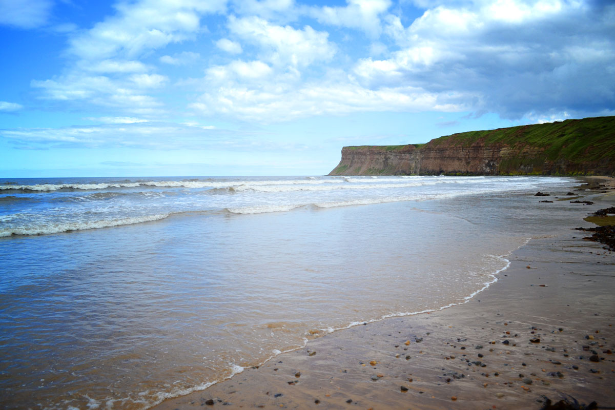 Beach at Saltburn