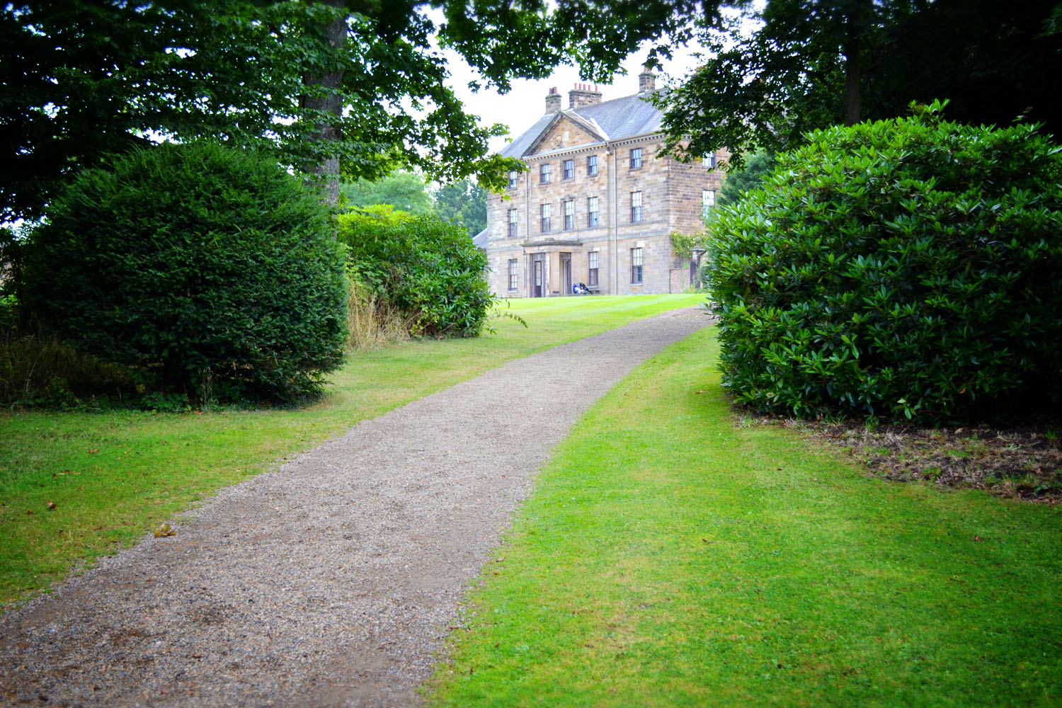 Glimpse of Ormesby Hall