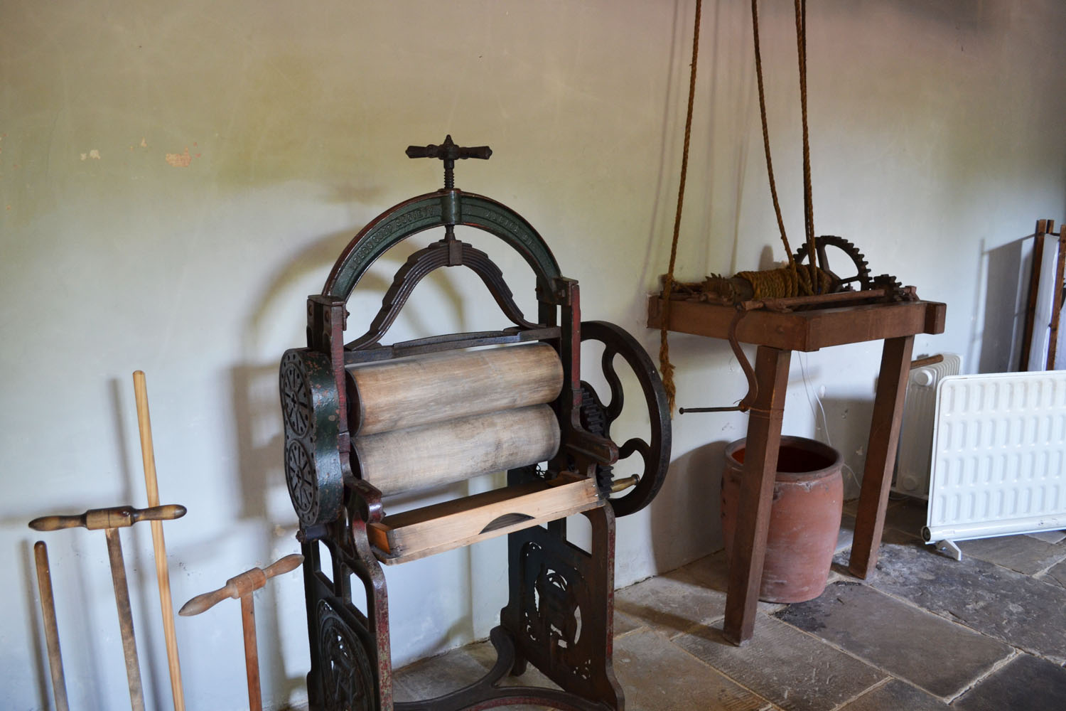 Ormesby Hall laundry