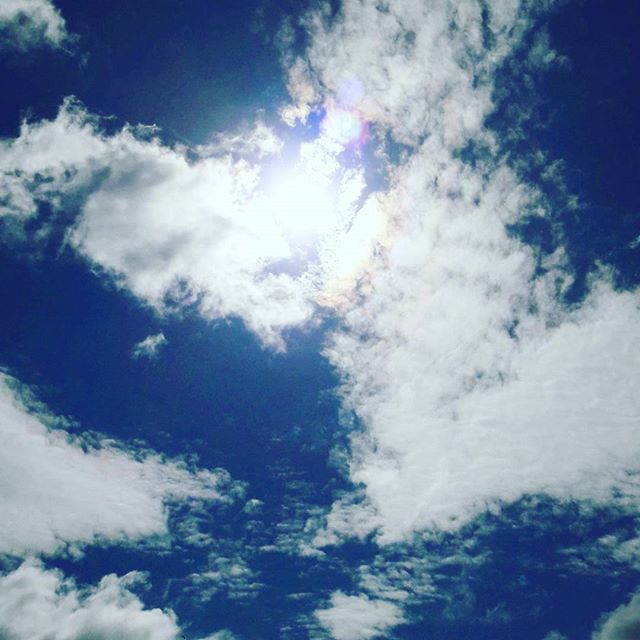 Sunshine and clouds