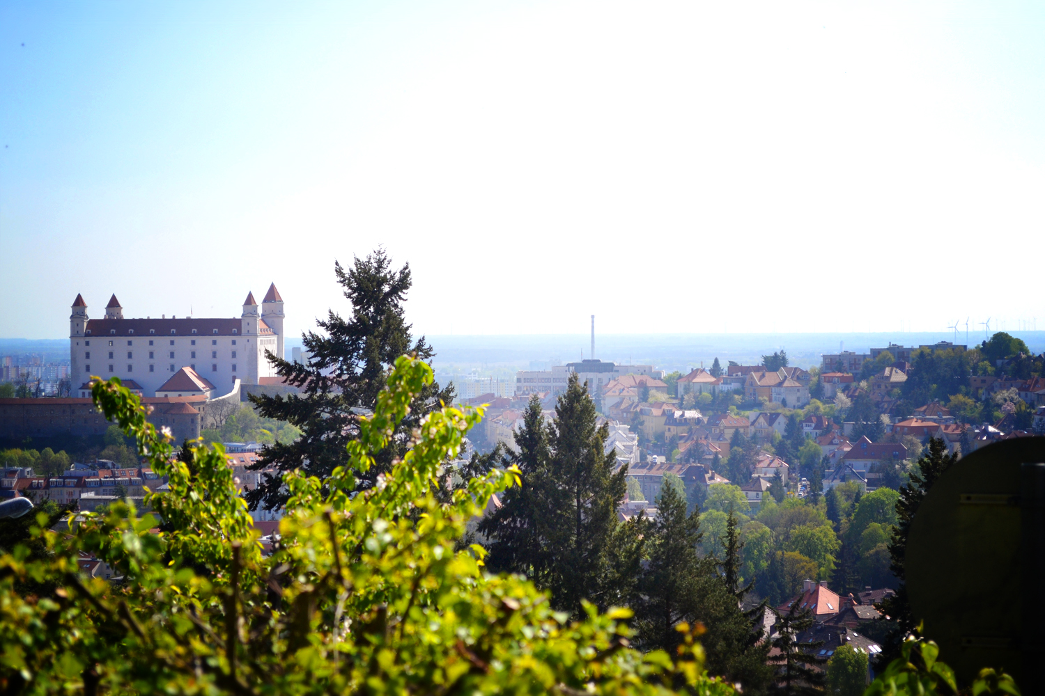 View of Hrad Castle