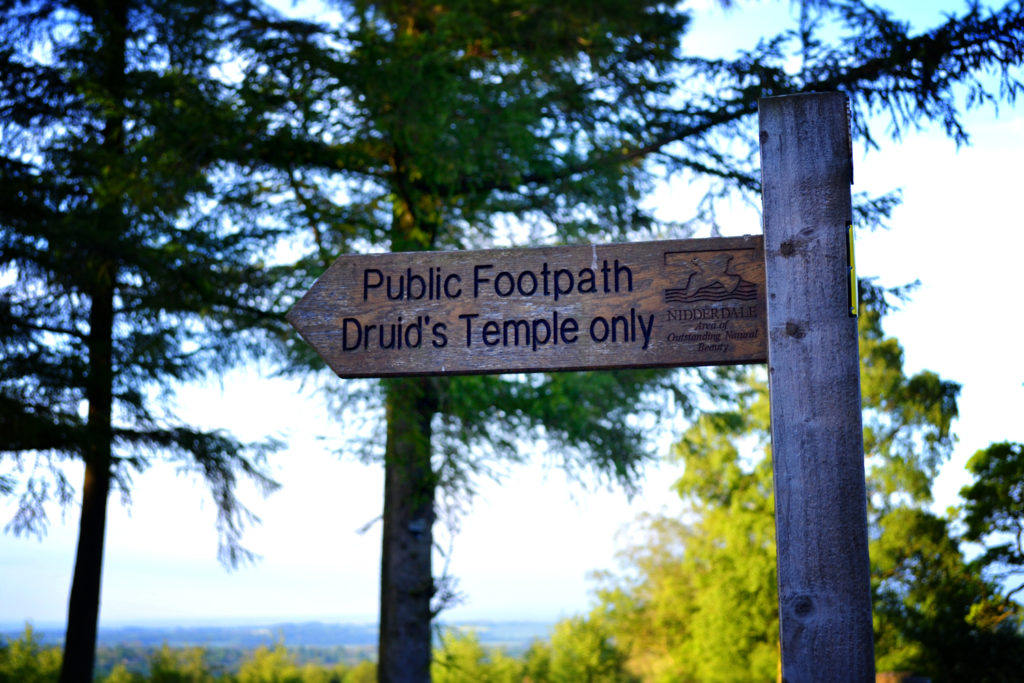 Druid's Temple footpath
