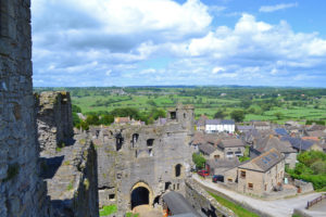 Middleham Castle views