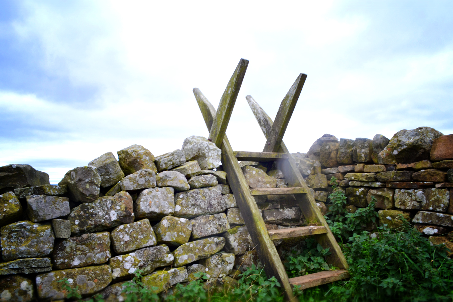 Stile at Hadrian's Wall